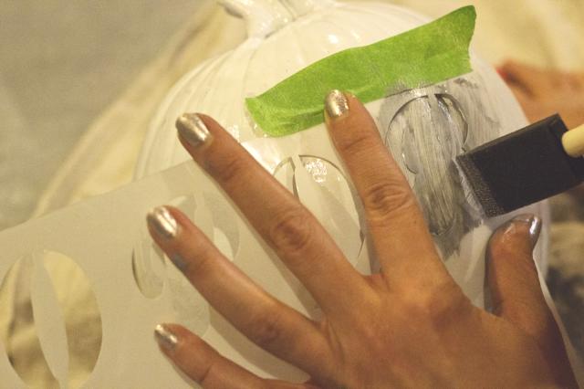 How NOT to paint a Pumpkin-NoSmallLife