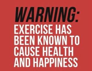 Exercise Warning