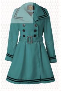 50's Millie Swing Winter Coat