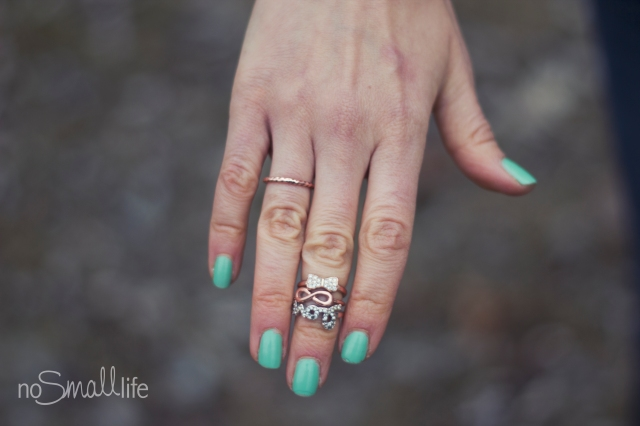 Love-Eternity-Bow: Express Midi Ring-NoSmallLife