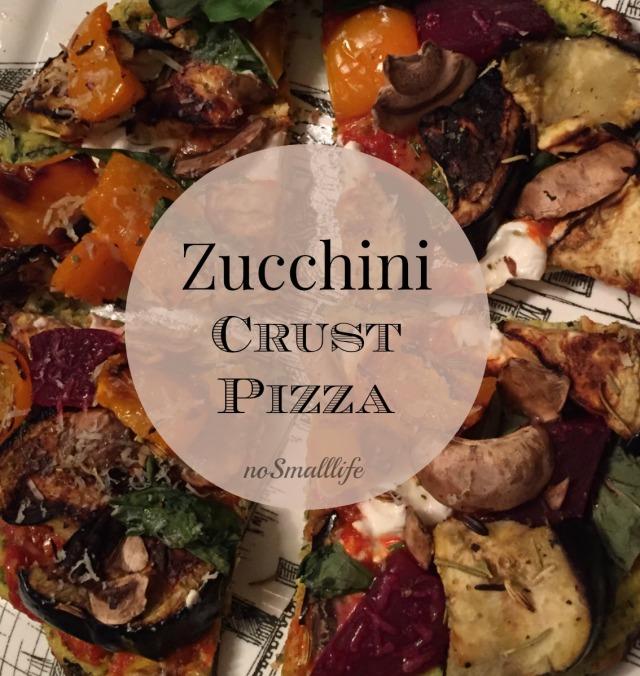 Zucchini Crust Pizza CORRECT