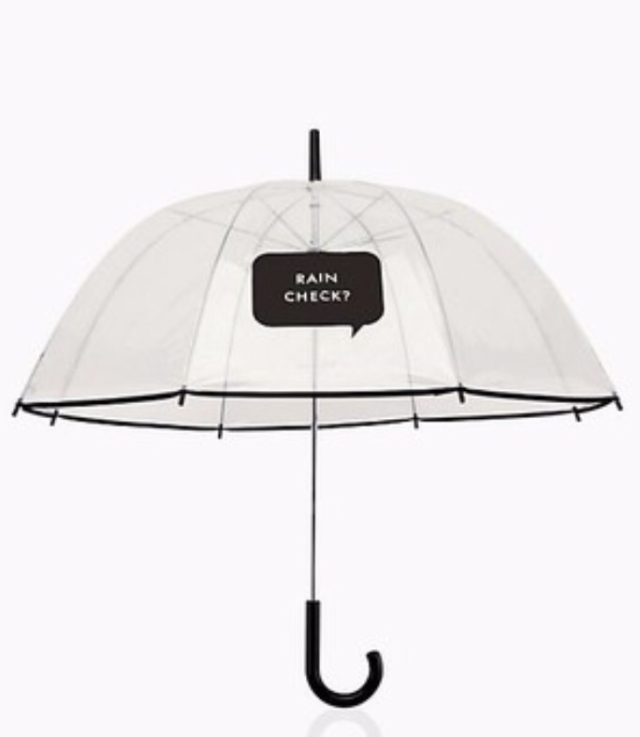 "Kate Spade ""Rain Check"" Umbrella"