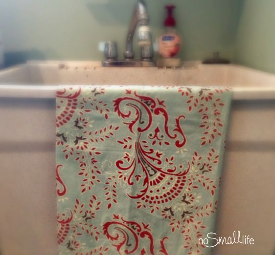 Cloth Napkin Turned Decorative Towel