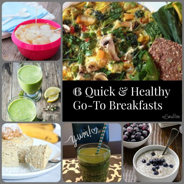 6 Fast, Easy and Allergy Friendly Breakfasts!