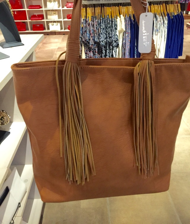 Fringe Bag from Charming Charlies: Fall 2015