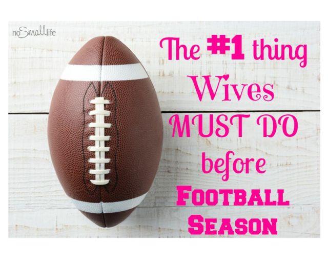 How Women can Survive Football Season!