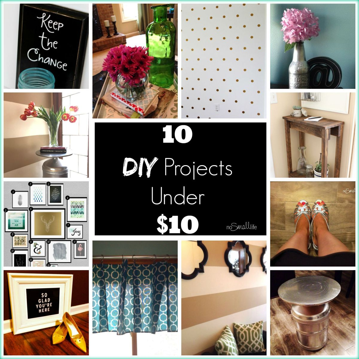 10 DIY Projects Under $10