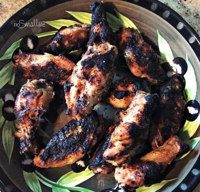 Grilled Buffalo Wings