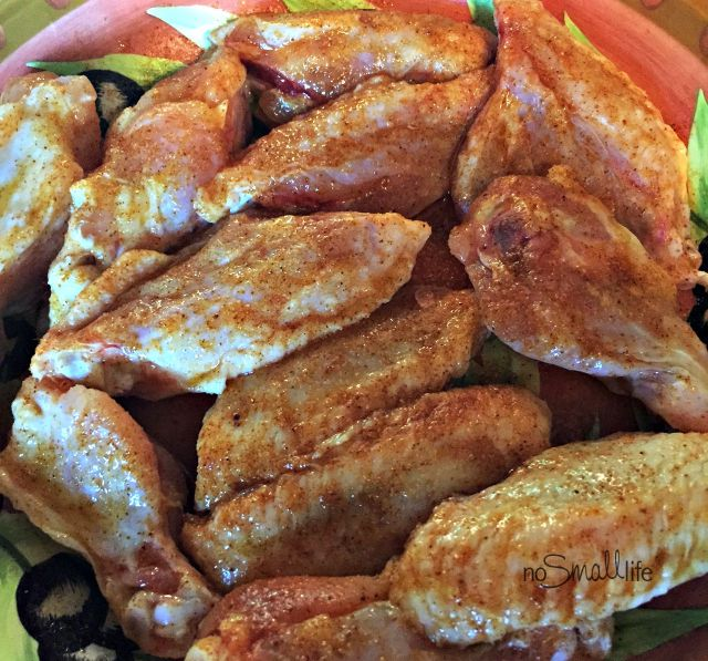 Grilled Buffalo Style Chicken Wings