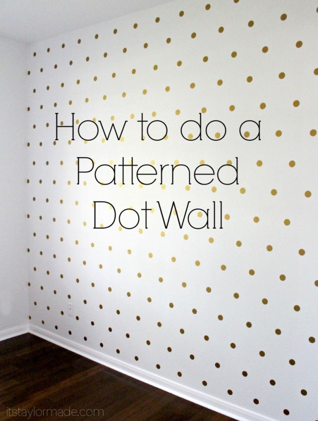 Non-Wallpaper Patterned Wall