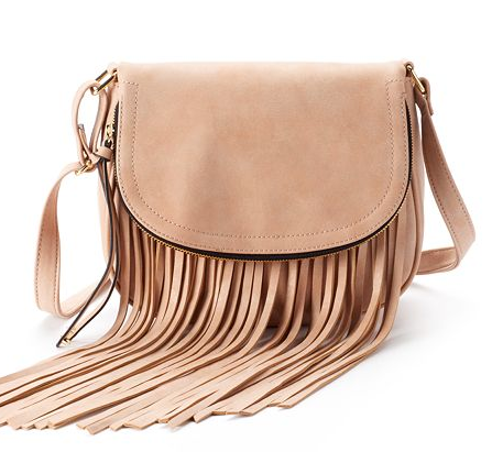 Fringe Cross Body Bag-Kohls