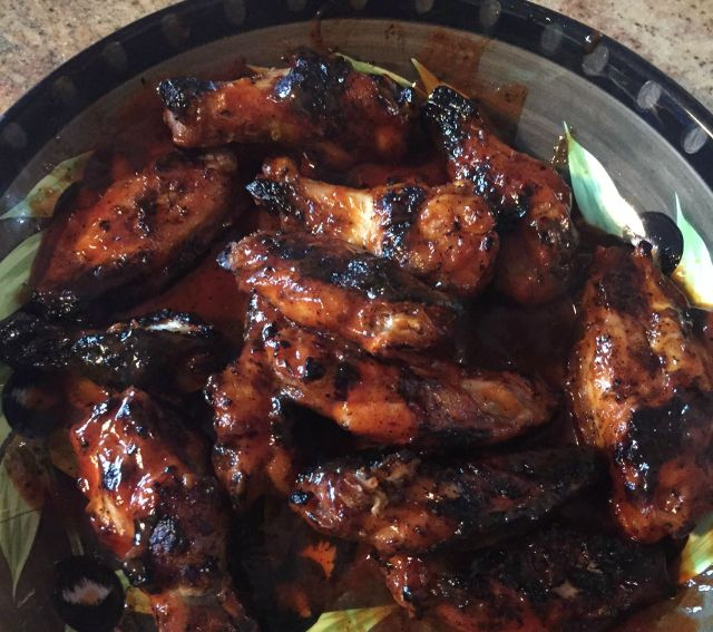 Healthier Chicken Wings