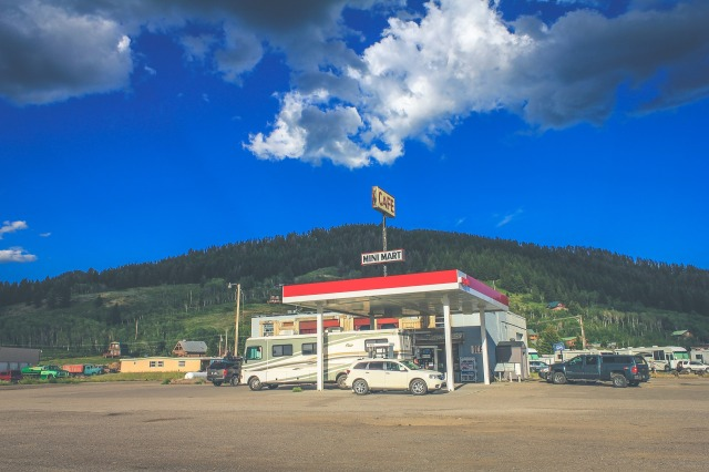 Restaurants Attached to Gas Stations -Ewe