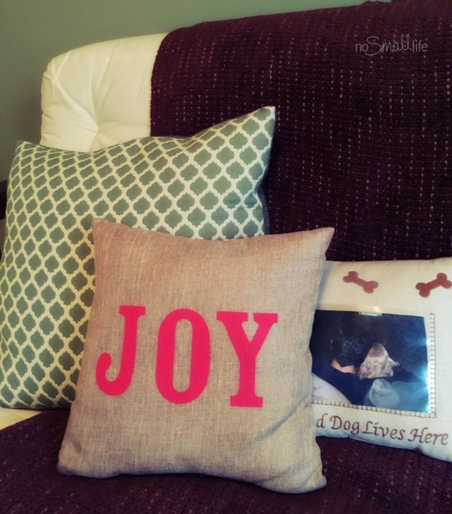 Target Typography Pillow