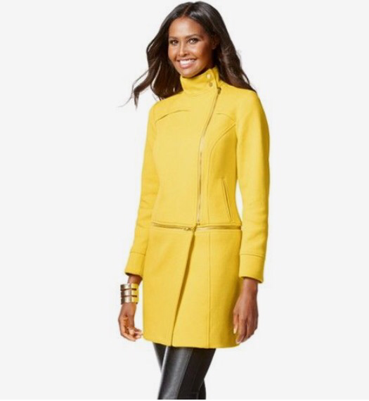 Canary Song 2 in 1 coat