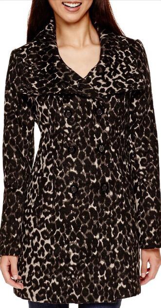 JCPenney Leopard Print jacket