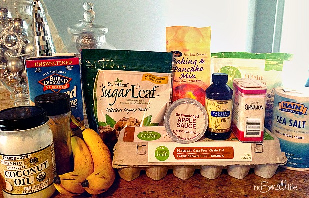 Indredients for Allergy Friendly Dessert