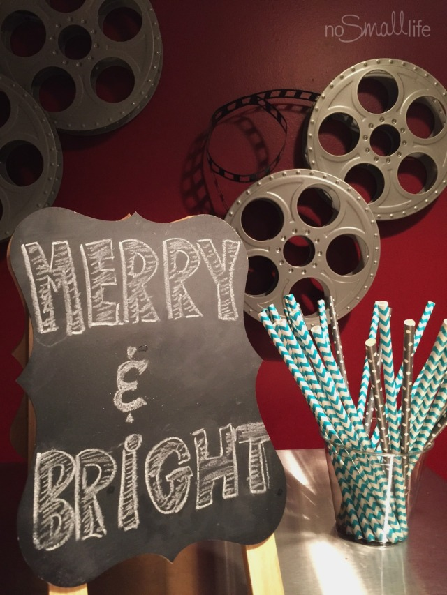 Merry & Bright Chalkboard Art