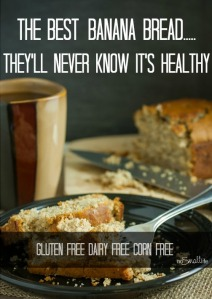Gluten Free Dairy Free Corn Free Banana Bread