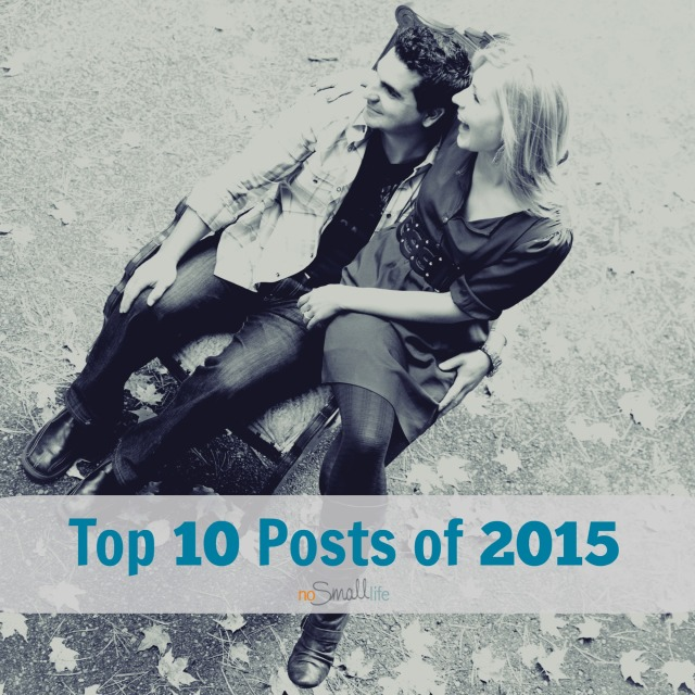 Top 10 Post of 2015 by No Small Life