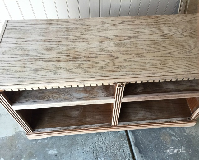 Easy TV Stand DIY